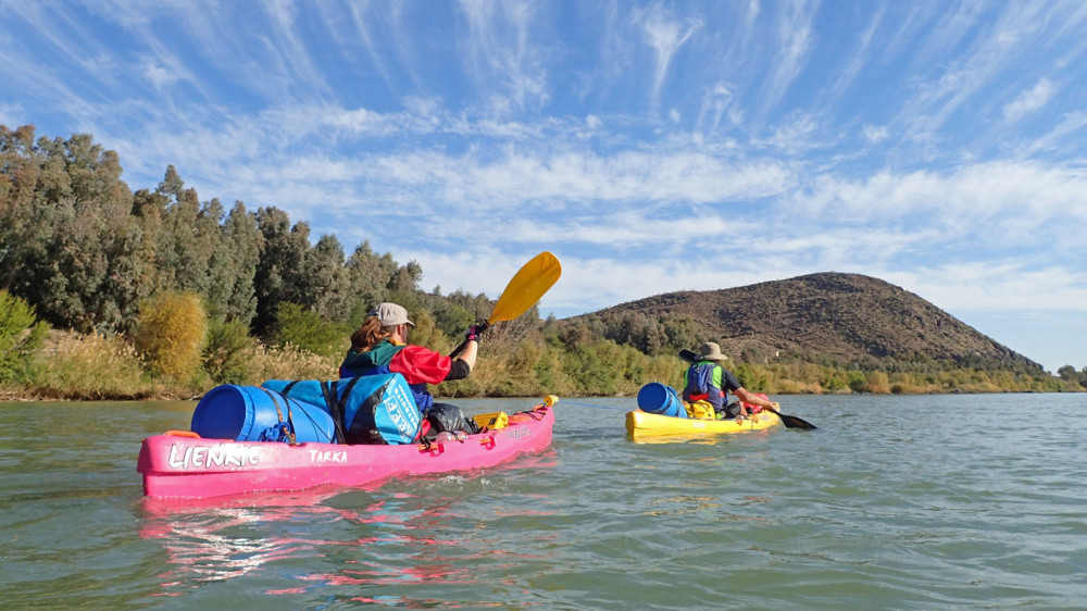 Four Days on the Orange River