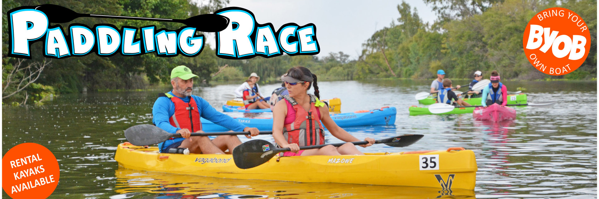 Paddling Race for everyone