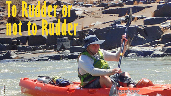 To rudder or not to rudder